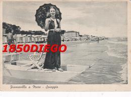 FRANCAVILLA A MARE - SPIAGGIA F/GRANDE VIAGGIATA 1939 ANIMAZIONE - Chieti