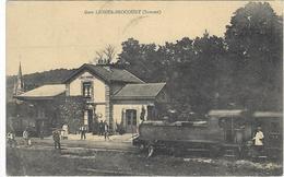 Liomer Brocourt Gare Circulee En 1913 - Autres Communes