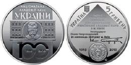 Ukraine - 5 Hryven 2018 UNC 100 Years Of The National Academy Of Sciences Of Ukraine Ukr-OP - Ukraine