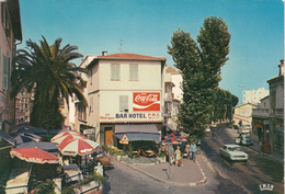 ROQUEBRUNE  CAP MARTIN Quartier Carnolés ( Bar,Hôtel,pub Coca Cola Sur Mur...) - France