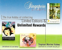 SINGAPORE, 2006, Booklet 57, Fish - 7th Reprint - Singapore (1959-...)