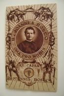 S. GIOVANNI BOSCO   BEATUS  JOANNES BOSCO SANTO  SAINTRELIC RELIQUIA Relique Relic IMAGE PIEUSES  ANDACHTSBILD - Devotion Images