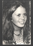 Mary Osmond (young Mary Osmond) - Singer, Actress, Doll Designer, Osmond Family - Photo Card - Zangers En Musicus