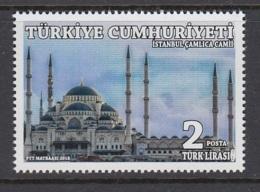 1.- TURKEY 2018 İSTANBUL ÇAMLICA MOSQUE - Moschee E Sinagoghe