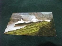 NAVI SHIP PORTA CONTAINER CANALE DI PANAMA FRANCOBOLLO AEREO PANAMA - Commercio