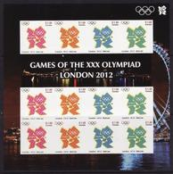 Grenada, 2012, Olympic London, Sheetlet Imperforated RARE - Summer 2012: London