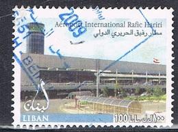 2005 - LIBANO / LEBANON - AEREOPORTO INTERNAZIONALE R. HARIRI / INTERNATIONAL AIRPORT R. HARIRI. USATO / USED. - Libano