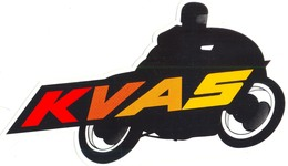 KVAS MOTO - Stickers