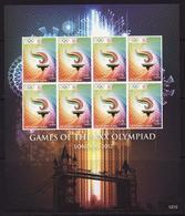Uganda, Olympic 2012 -2 , Sheetlet Imperforated RARE! - Summer 2012: London