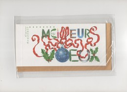 Carte Souvenir Meilleurs Voeux 2002 (sous Blister) - New Year