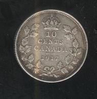 10 Cents Canada 1917 - TTB - Canada