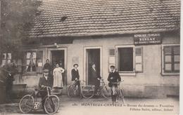 90 - MONTREUX CHATEAU - BUREAU DES DOUANES - FRONTIERES - France