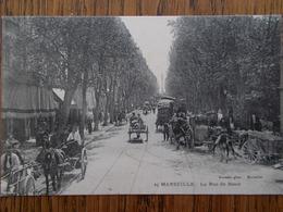 13 - MARSEILLE - La Rue De Rome. (nombreux Attelages - Belle Animation) - The Canebière, City Centre