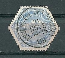 TG 17 Gestempeld ANVERS (PL DE L'AURORE) - Telegraph