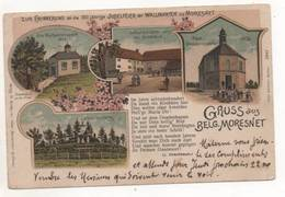 39411  -  Gruss  Aus  Belg  Moresnet  -  Litho - Plombières