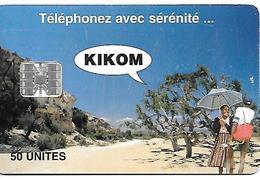 CARTE A-PUCE-50U--SC7-MADAGASCAR-KIKOM-100000ex-BE - Madagascar