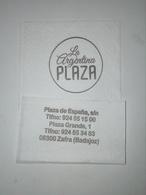 Servilleta,serviette .La Argentina Plaza,Espanha - Company Logo Napkins