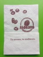 Servilleta,serviette.Algrano- Caffee Food. Sevilha - Company Logo Napkins