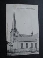 CP BELGIQUE (M1818) CONTICH KONTICH (2 VUES) Eglise St Martin - St Martens Kerk - Kontich