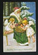 G.O.M Christmas/Noel/Natale - /Santa Claus - Weihnachtsmann/Babbo Natale - Postcard - Kerstman