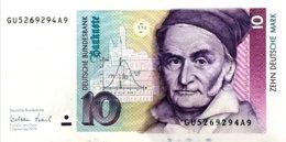 Germany West 10 Deutsche Mark, BRD-56/Ro.312a (1999) - UNC - [ 7] 1949-… : RFA - Rep. Fed. Tedesca