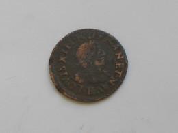 Double Tournois  LOUIS XIII -1639  à Identifier  ***** EN ACHAT IMMEDIAT ***** - 1610-1643 Louis XIII Le Juste