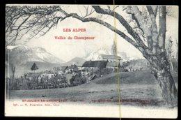 St Julien En Champsaur: Vue Générale - Andere Gemeenten