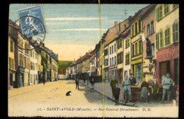 Saint Avold: Rue Général Hirschauer - Saint-Avold