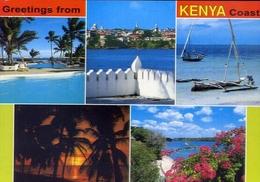 Greetings From Kenya Coast - 80 - Formato Grande Non Viaggiata – E 7 - Cartoline