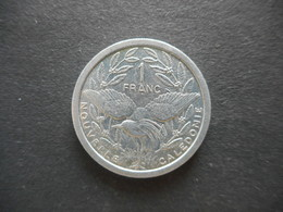 New Caledonia 1 Franc 1983 - New Caledonia