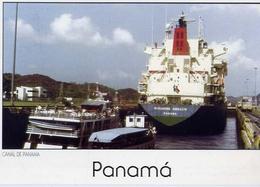 Panama - Canl Esclusas De Miraflores - Formato Grande Viaggiata Mancante Di Affrancatura – E 7 - Cartoline