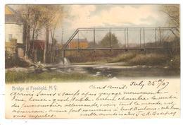 CPA Etat De New York - Bridge At Freehold En 1907 - NY - New York