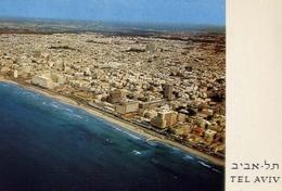 Tel Aviv - Partial View From The Air - Formato Grande Viaggiata – E 7 - Cartoline