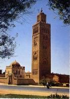 Marrakech - La Mosquee De La Koutoubis Et Le Marabout - Formato Grande Non Viaggiata – E 7 - Marrakech
