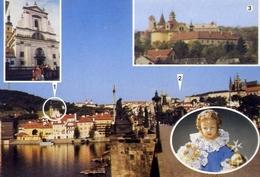Praga - Monastero - S.roberto - Formato Grande Viaggiata – E 7 - Repubblica Ceca