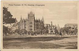 5-FLORA FOUNTAIN-(N.W.)BOMBAY(COPYRIGHT) - India