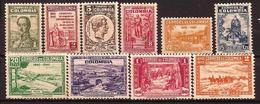 Colombia - Fx. 1020 - Yv. 339/48 - 100º Aniversario Del Gral. Santander - ** - Colombia