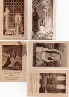 """Lot De 5 Images Religieuses """" Prière Pour Les Prisonniers"""" Ed. Aumônerie Des Prisonniers De Guerre - Santini"""