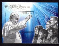 2016 Poland - World Youth Day - Pope Franciscus I - MS Joint With Vatican - MNH** MI B 249 - Gemeinschaftsausgaben
