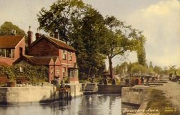 Boultere Lock - Maidenhead - Formato Grande Viaggiata – E 7 - Inghilterra