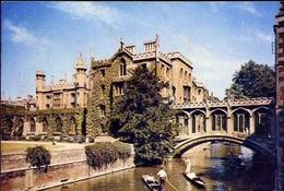 Bridge Of Sighs St John's College - Cambridge - Formato Grande Viaggiata – E 7 - Inghilterra