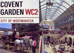 Convent Garden Wc2 - City Of Westminster - Formato Grande Viaggiata – E 7 - Inghilterra