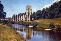 Fouintains Abbey Yorkshire - Formato Grande Viaggiata – E 7 - Inghilterra