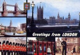 Greetings From London - Formato Grande Viaggiata – E 7 - Inghilterra