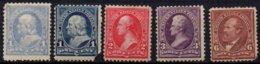 USA - 5 Valeurs De 1890/93 Neuves - United States