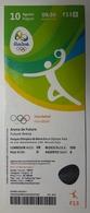 Handball Ticket  Olympic Games Rio 10.8.2016 Brasill Future Arena - Match Tickets