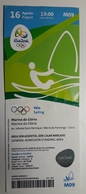 Sailing  Ticket  Olympic Games Rio 16.8.2016 Marina Da Gloria - Match Tickets