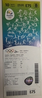 Water Polo Ticket Olympic Games Rio 10.8.2016 Maria Lenk Aquatics Centre - Match Tickets