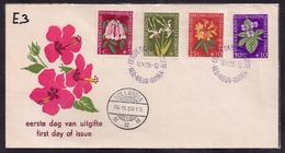 Nouvelle Guinée - 1959 - FDC - Orchidées - Orchids
