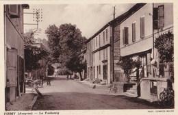 CPA : Firmy (12) Le Faubourg Animée,   Ed Combier  Macon - Firmi
